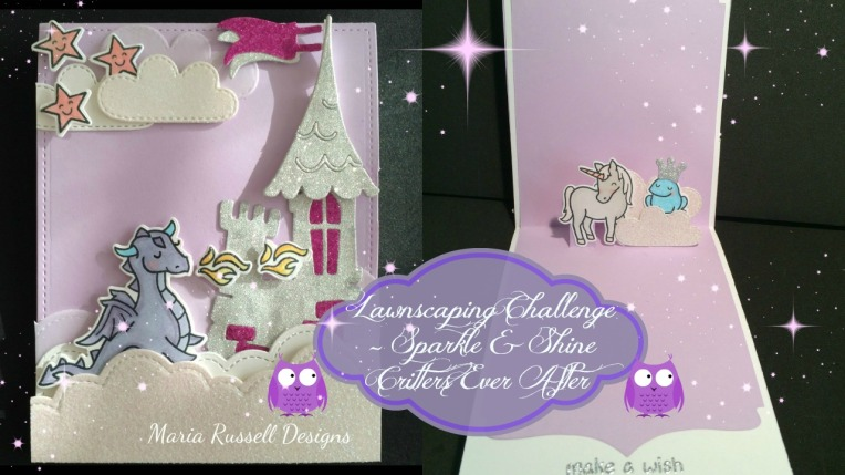 Lawnscaping Challenge Sparkle and Shine Created by Maria Russell
