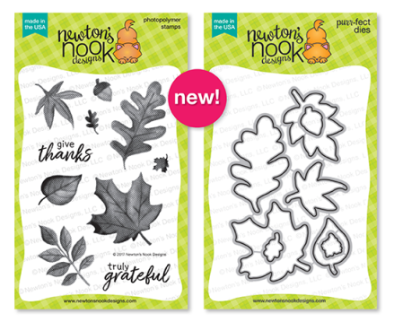 NND Sept Shades of Autumn Stamp