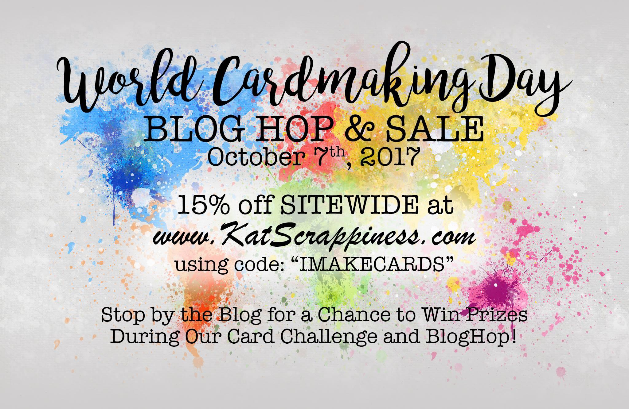 KatScrap Worldcardmaking Day Sale Image