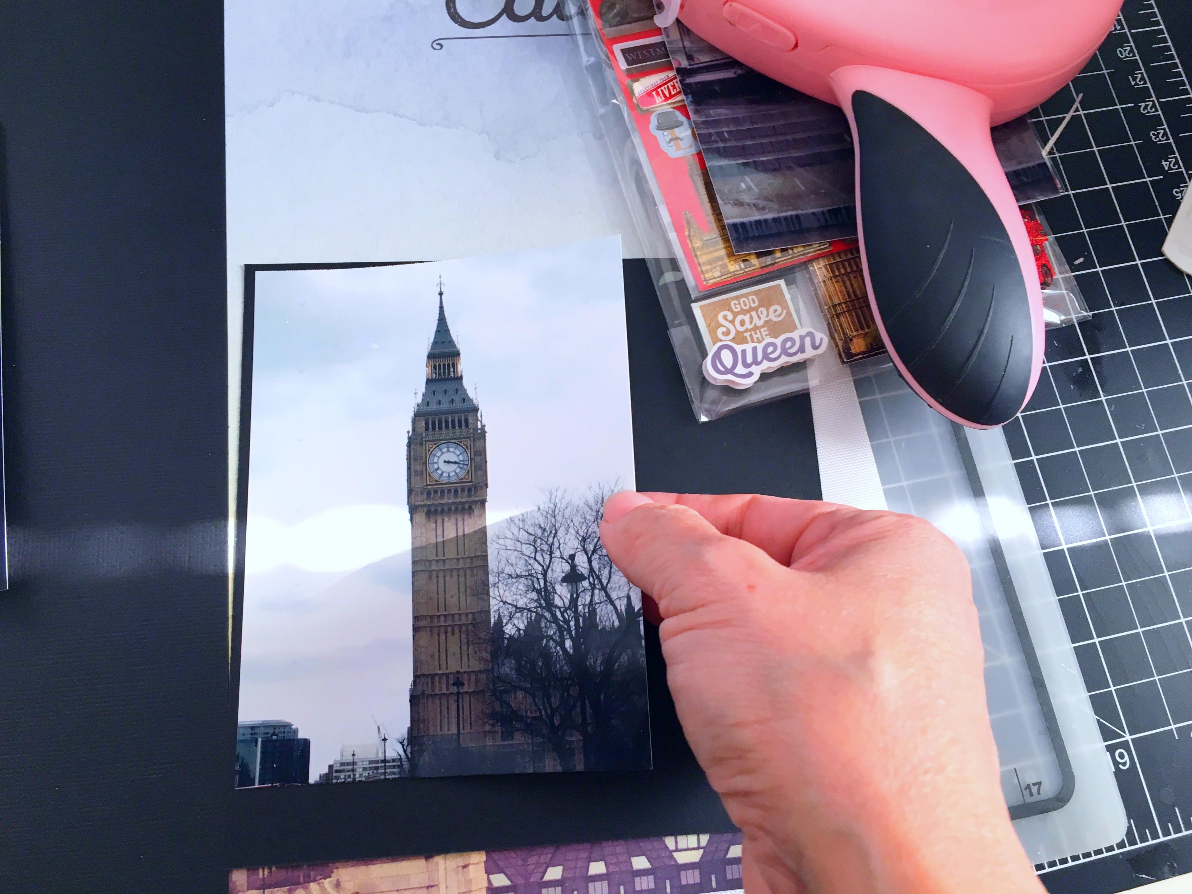 Paper House LONDON 3d Scrapbook Stickers