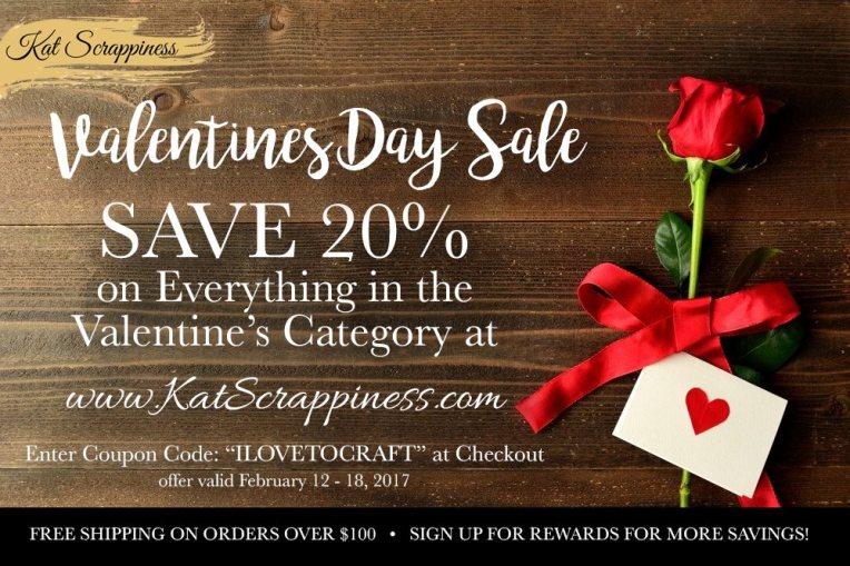 KatScrap Valentine's Sale